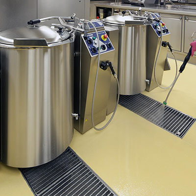 commercial kitchen cleanability